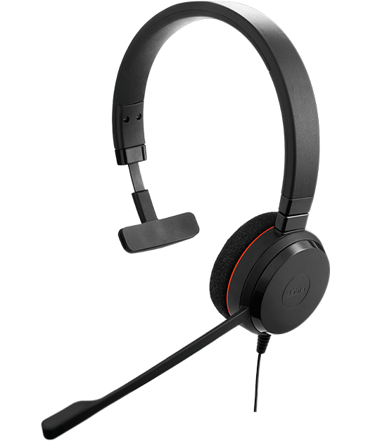 Jabra EVOLVE 20 headset with quality microphone
