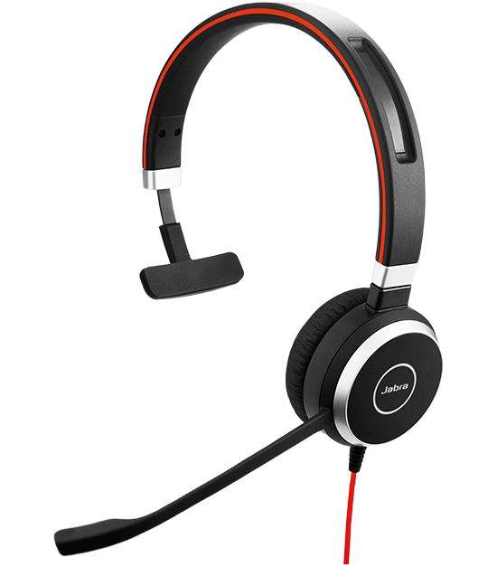 Jabra EVOLVE 40 headset with quality microphone